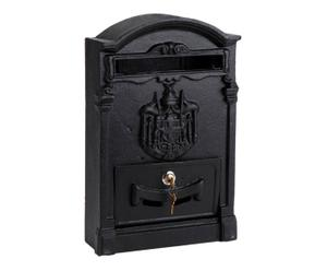 Boîte aux lettres Fonte, Noir - H25