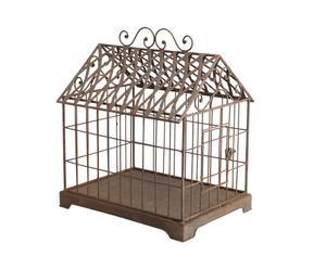 Cage Fer, Marron - H45