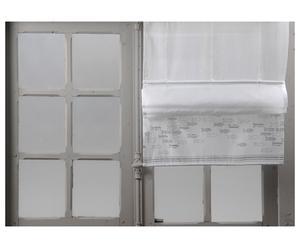 Store coton, blanc - 60*60