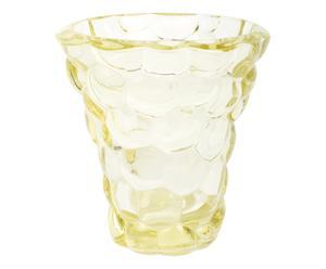 Vase Verre, Jaune – H40