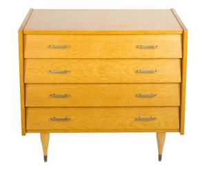 Commode Chêne blond, Naturel - H79