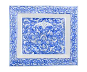Vide-poche KATIE Porcelaine, bleu et blanc - 19*17