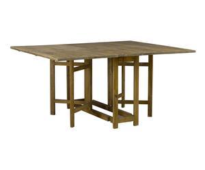 Table pliante pin, Naturel – L164