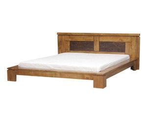 Cadre de Lit, bois massif - L200