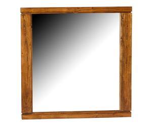 Miroir, bois massif – 90*90