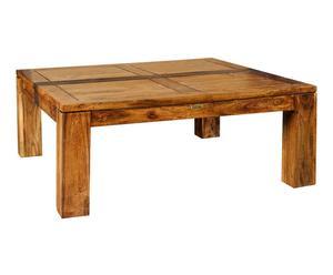 Table basse, bois massif - L100