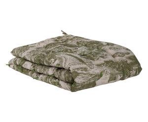 Bout de lit Coton imprimé, Bronze - 200*90