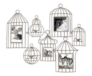 Pêle-mêle Cages Métal, Taupe - L71