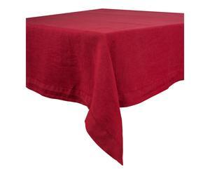 Nappe HUE lin, rouge - 300*170