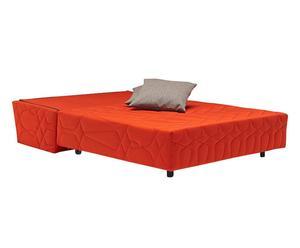 Canapé convertible Persian, orange – L137