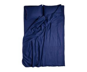 Housse de couette Lin, Bleu marine - 200*140
