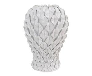 Sculpture Céramique, Blanc - H49