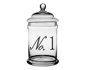 Bonbonnière verre, Transparent – H29