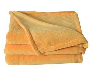 Couverture légère APOLLO microfibres, orange - 180*220