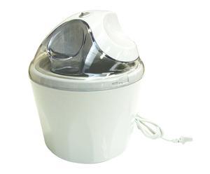 Sorbetière aluminium, Blanc - H25