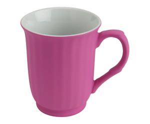 Mug porcelaine, violet - H11