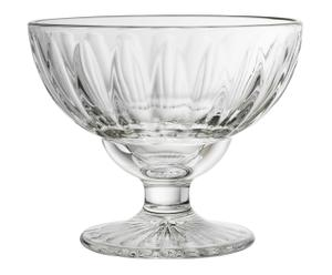 Coupe à glace verre, transparent - Ø13