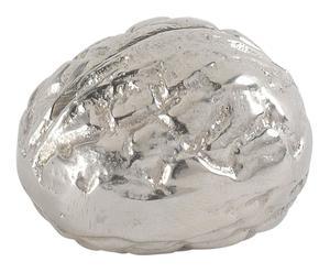 Porte-nom aluminium, argenté - Ø3