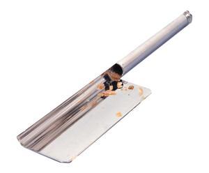Ramasse miettes métal, argenté - L16