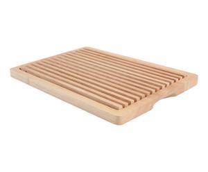 Planche à pain bois, naturel - 36*25