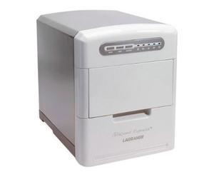 Machine à glaçons, inox - blanc et argenté