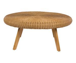 Table ROTIN, naturel - Ø100