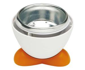 Cuit-oeufs et perce oeufs aluminium, multicolore - H11