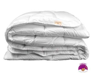 Couette PERCALECOTON polyester 400 g/m², blanc - 140*200