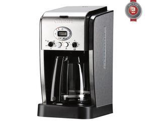Cafetière à filtres acier inoxydable et brossé, argenté - H37