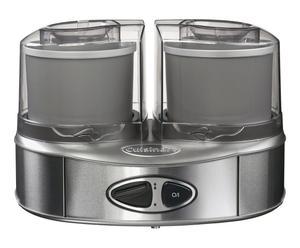 Machine à glaces aluminium et métal, argenté - 2L