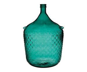 Vase, bleu pétrole - H54
