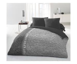Parure de drap GRANATOVAYA polyester, gris clair - 240*300