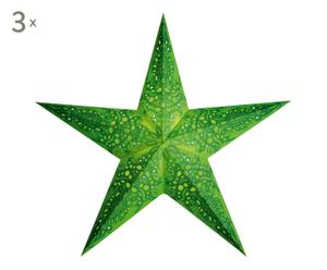 3 Abat-jour MONO GREEN, vert - L60