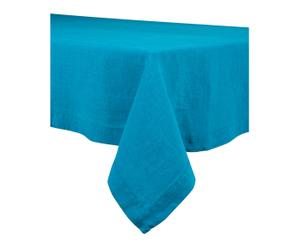 Nappe NAÏS lin, turquoise - 170*300