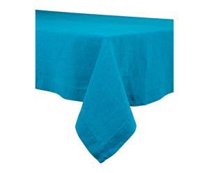 Nappe NAÏS lin, turquoise - 170*300