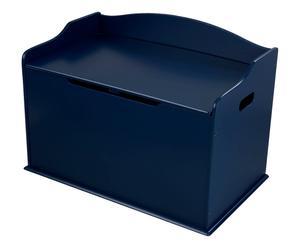 Coffre à jouet, bleu - L76