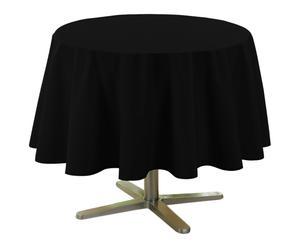 Nappe ESSENTIEL polyester, noir - Ø180