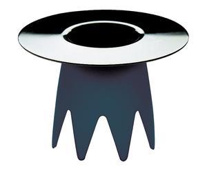 Coquetier inox 18/10, argenté et noir - H10