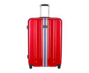 Valise rigide HABANA polycarbonate, rouge - 64L