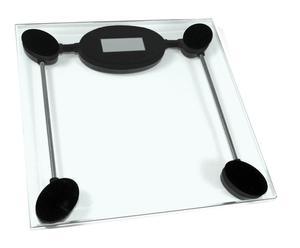 Pèse personne digital verre, transparent - L28