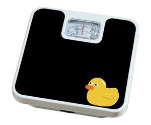 Pèse personne DUCK métal, noir - 26*26