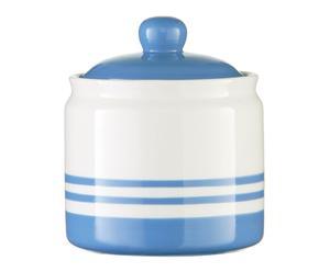 Pot à sucre MARINE céramique, bleu - H14