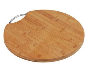 Planche à découper BOK bois de bambou, naturel - Ø34