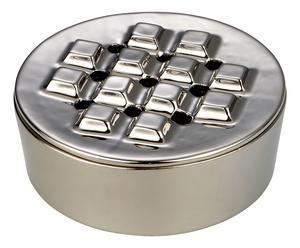 Cendrier CIGARE inox, argenté - Ø16