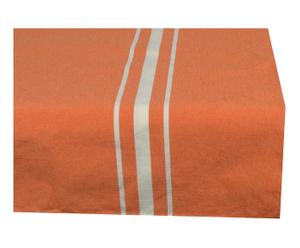 Nappe coton, orange - 150*150