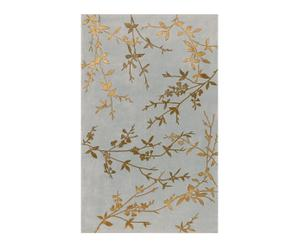 Tapis LUXEMBOURG laine, gris - 61*91
