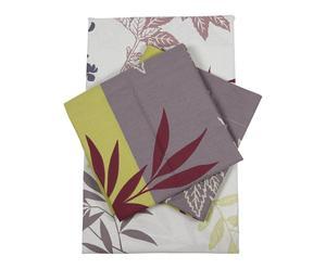 Parure de drap AMAZONIE coton, multicolore - 140*190