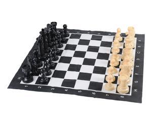 Jeu d\'échecs CHESS, plastique - noir et blanc