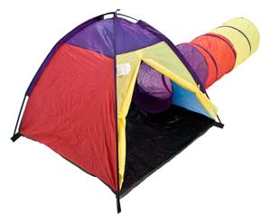 Tente ADVENTURE, polyester et plastique - multicolore