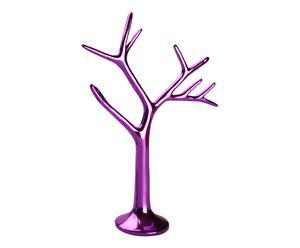 Porte-bagues résine, violet - H26